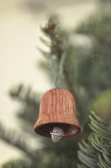 homemade bell ornament