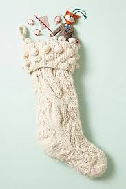 The Anthropologie stocking